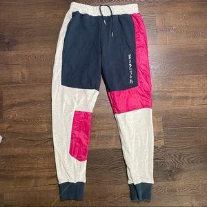 Pink Dolphin Kanji Colorblock Joggers